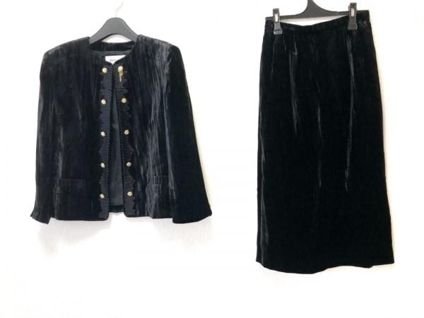 ダナパリ スカートスーツ サイズ11 M 黒
