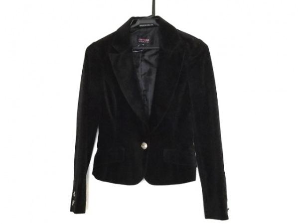 シェロー ジャケット サイズ36 S ブラック