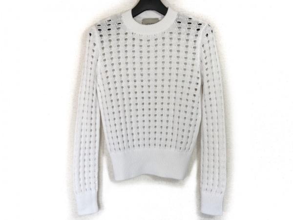 フォンデル 長袖セーター サイズS 白
