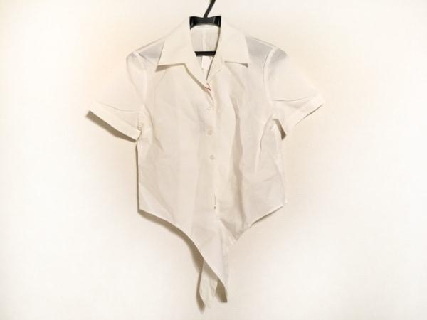 カールパークレーン 半袖シャツブラウス サイズ7 S レディース美品  白