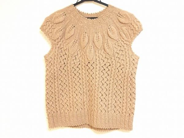 ペイトンプレイス ノースリーブセーター サイズ9 M レディース ベージュ