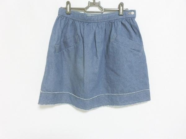 ブロードゥリーアンドコー スカート サイズF レディース美品  ブルー デニム