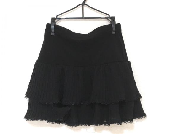 エルベンス ミニスカート サイズM美品  黒