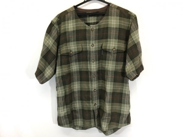 スコッチハウス 半袖シャツ サイズM メンズ