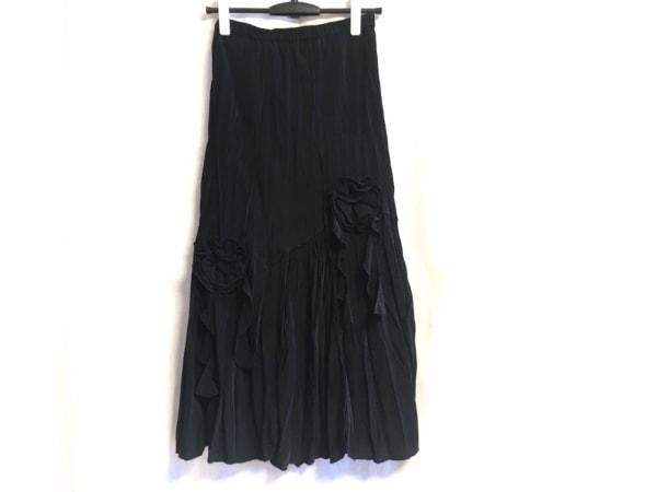 ノコオーノ ロングスカート サイズ38 M 黒