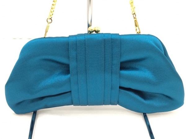 TAMBU(タンブゥ) ハンドバッグ美品  サテン