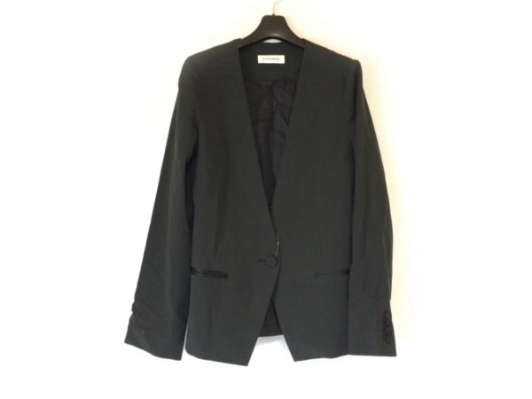 astimegoesby(アズタイムゴーズバイ) ジャケット サイズ38 M レディース 黒