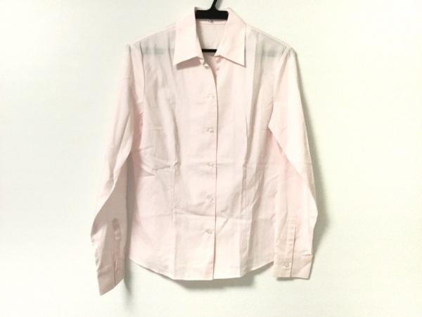 スコッチハウス 長袖シャツブラウス サイズ40 M レディース美品  ピンク