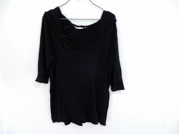 チャームカルト 半袖セーター サイズ2 M 黒