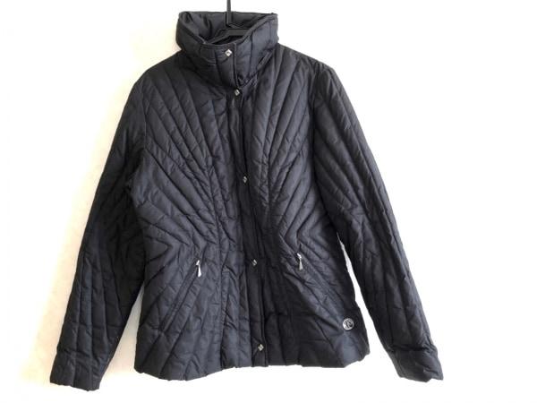 CBY(シービーワイ) ダウンジャケット サイズ46 XL レディース 黒 冬物/ジップアップ