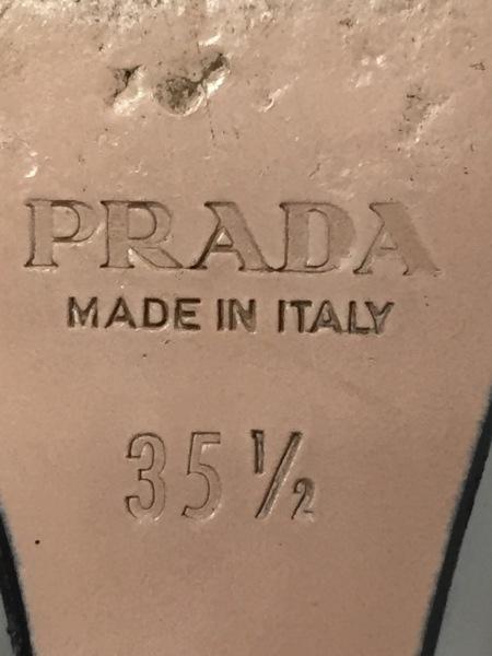 プラダ サンダル 35.5 レディース 黒
