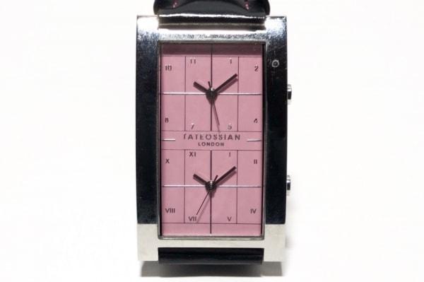 タテオシアン 腕時計 BACK-0114586 ピンク