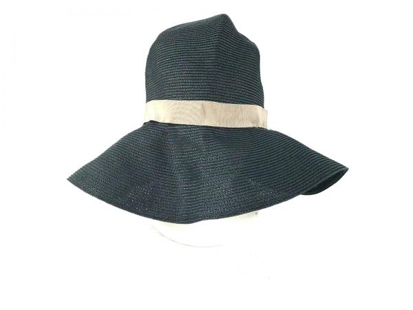 COEUR(クール) 帽子 free 黒×ベージュ