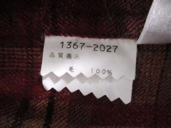-(--) 長袖シャツ サイズ46 XL メンズ ブラウン×マルチ 4