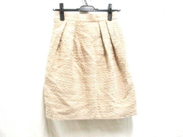 【中古】 アナカ Unaca スカート サイズ36 S レディース ベージュ
