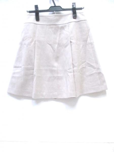 アンタイトル スカート サイズ2 M レディース美品  アイボリー 2