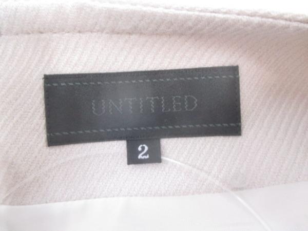 アンタイトル スカート サイズ2 M レディース美品  アイボリー 3