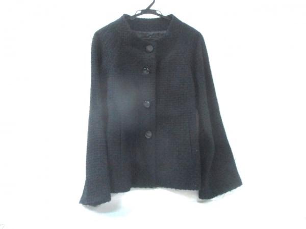 【中古】 ハッシュアッシュ HUSHUSH ジャケット サイズ3 L レディース ブラック