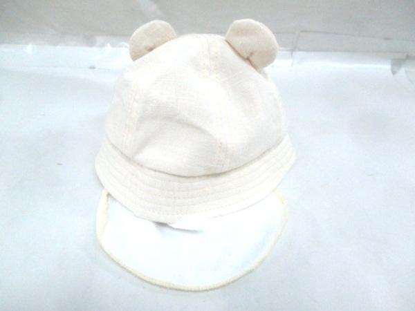 -(--) 帽子 44cm ライトベージュ 3