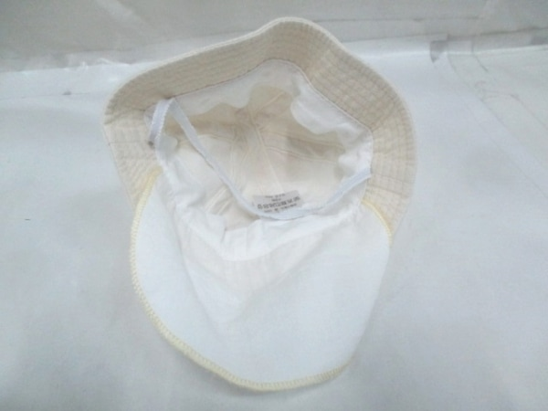 -(--) 帽子 44cm ライトベージュ 4