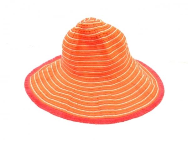 Lacoste(ラコステ) 帽子 57cm オレンジ 1