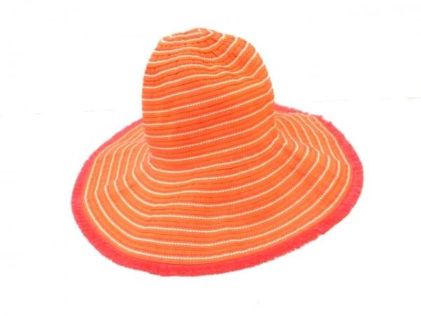 Lacoste(ラコステ) 帽子 57cm オレンジ 2