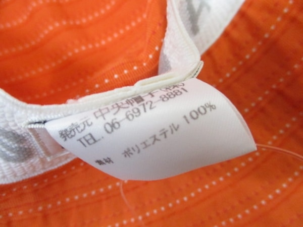Lacoste(ラコステ) 帽子 57cm オレンジ 6