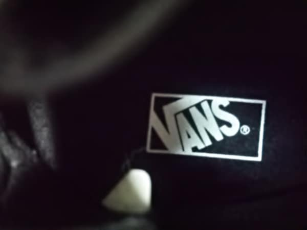 ノーブランド スニーカー 25.5 メンズ 黒×白 5