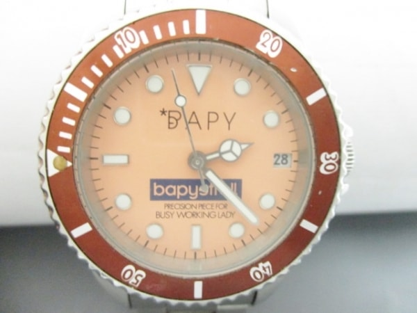 BAPY(ベイピー) 腕時計美品  - レディース