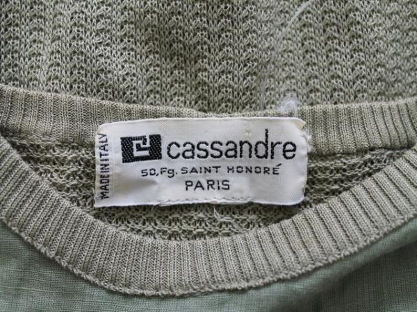 カサンドレ 半袖カットソー サイズ42 L