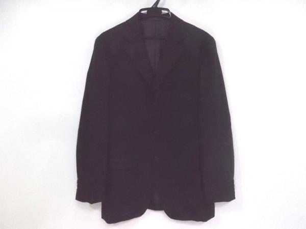 ゼニア ジャケット サイズ48 XL メンズ 黒