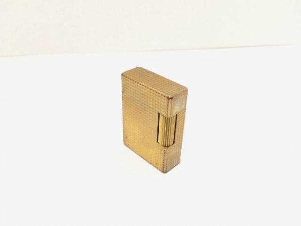 デュポン ライター ゴールド 金属素材