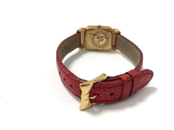 ニナリッチ 腕時計美品  D950 レディース リボン/革ベルト 3
