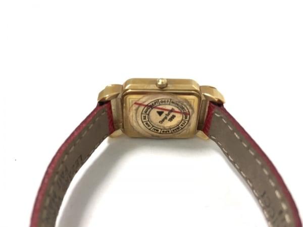 ニナリッチ 腕時計美品  D950 レディース リボン/革ベルト 4