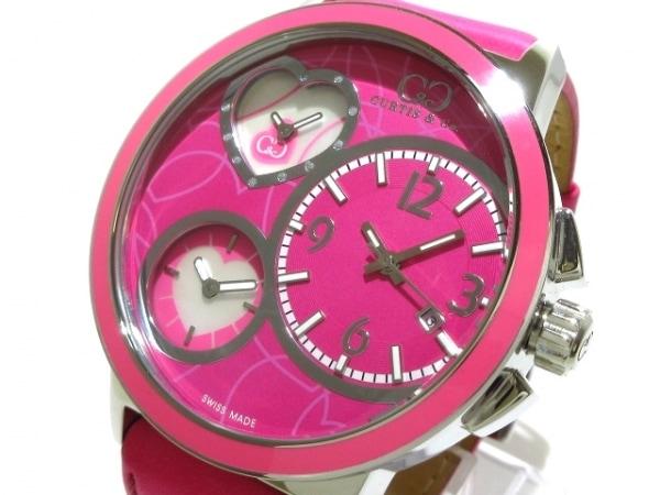 カーティス 腕時計美品  レディース ハート