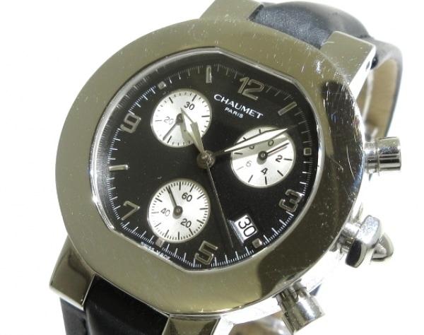 ショーメ 腕時計 スタイルダンディ - 黒