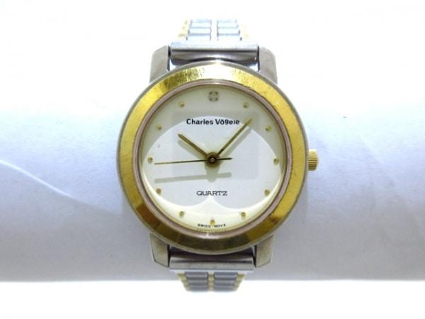 シャルルホーゲル 腕時計美品  CV-7204