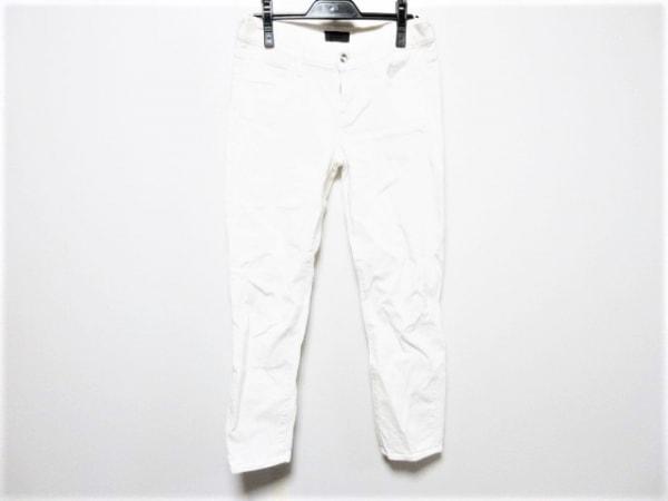 コーラル パンツ サイズ26 S レディース 白