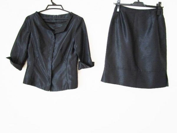 メルローズ スカートスーツ レディース 黒