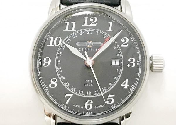 ツェッペリン 腕時計美品  LZ127 メンズ 黒