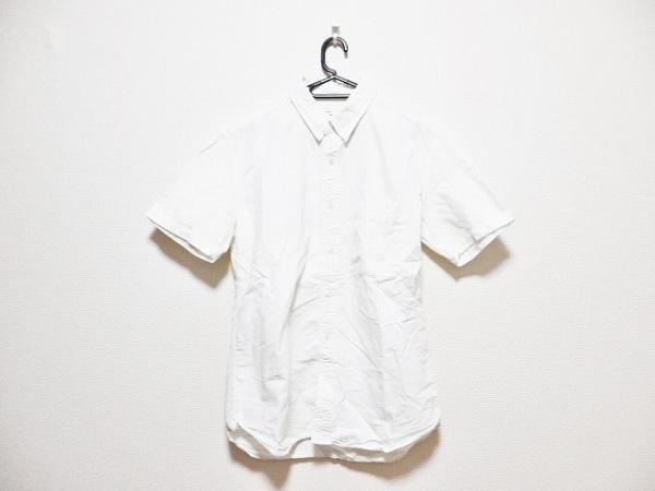 マーカ 半袖シャツ サイズ3 L メンズ 白