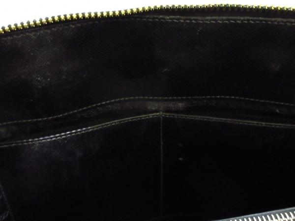 PRADA(プラダ) ハンドバッグ - 黒 レザー