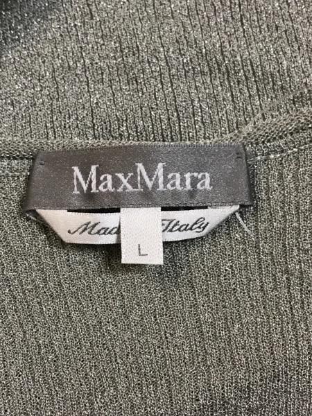 マックスマーラ 長袖セーター サイズL ラメ