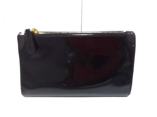 miumiu(ミュウミュウ) 3つ折り財布 - 黒