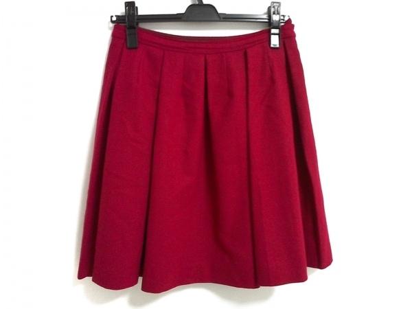 ジェーンマープル スカート サイズM レッド