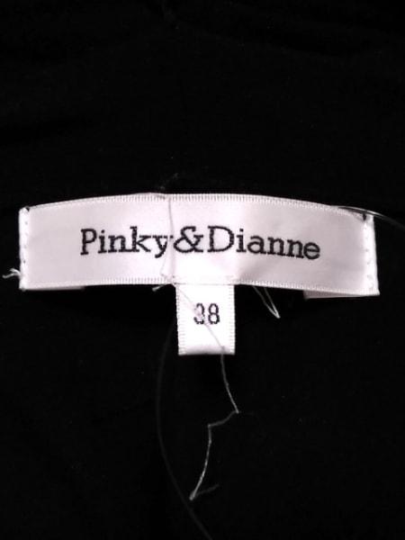 ピンキー&ダイアン コート サイズ38 M 黒