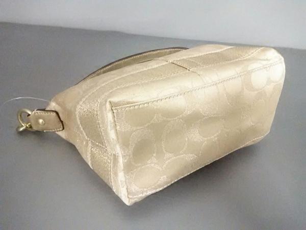 コーチ ハンドバッグ美品  42019 ラメ