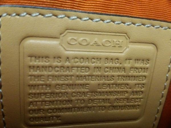 COACH(コーチ) ハンドバッグ美品  6362