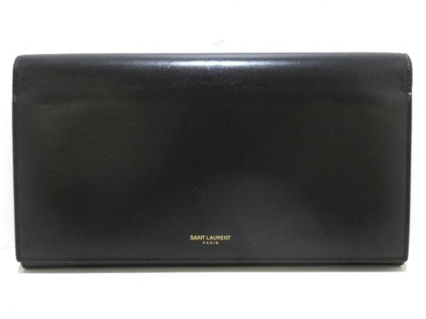 サンローランパリ 財布 360434 黒 レザー