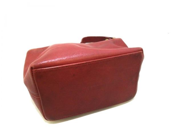 コーチ ハンドバッグ - - レッド レザー